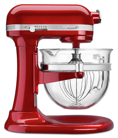 KitchenAid Professional 6500 Design™ Series Bowl-Lift Stand Mixer - KSM6521XCA|Batteur sur socle à bol relevable de la série Professional 6500 DesignMC de KitchenAid - KSM6521XCA|KSM6521X