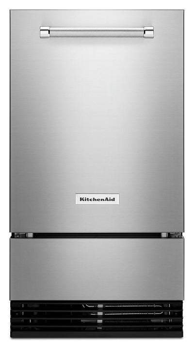 "KitchenAid 18"" Outdoor Automatic Ice Maker - KUIO338HSS