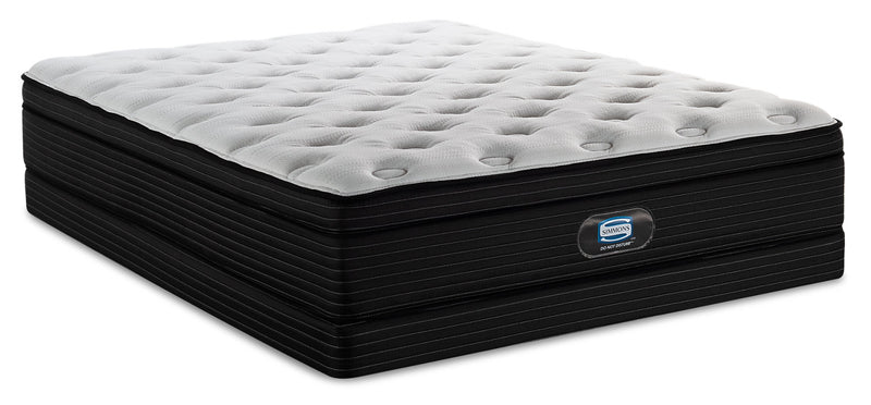 Simmons Do Not Disturb Largo Eurotop Low-Profile Twin Mattress Set|Ensemble matelas à Euro-plateau à profil bas Largo Do Not DisturbMD de Simmons pour lit simple|LARGOLTP