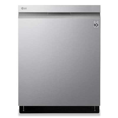 LG Top Control Dishwasher with TrueSteam® QuadWash® and 3rd Rack - LDP6809SS - Dishwasher in Stainless Steel