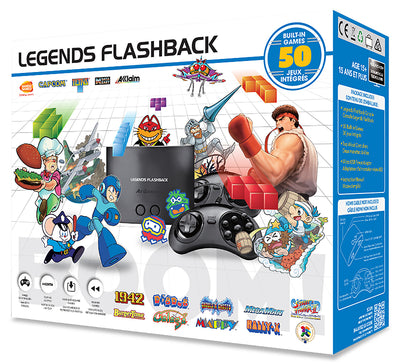 AtGames Arcade Legends Flashback Game Console|AtGames Console de jeu Legends Flashback|LEGENDSF