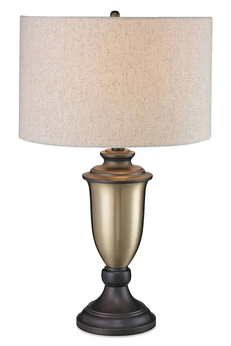 Antiqued Gold with Bronze-Plating Table Lamp|Lampe de table or antique ornée d'un placage bronze|LL1151TL