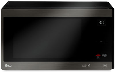 LG 1.5 Cu. Ft. NeoChef™ Countertop Microwave with EasyClean® - LMC1575BD - Countertop Microwave in Smooth Black