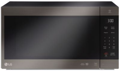 LG 2.0 Cu. Ft. NeoChef Countertop Microwave with Smart Inverter and EasyClean – LMC2075BD - Countertop Microwave in Black Stainless