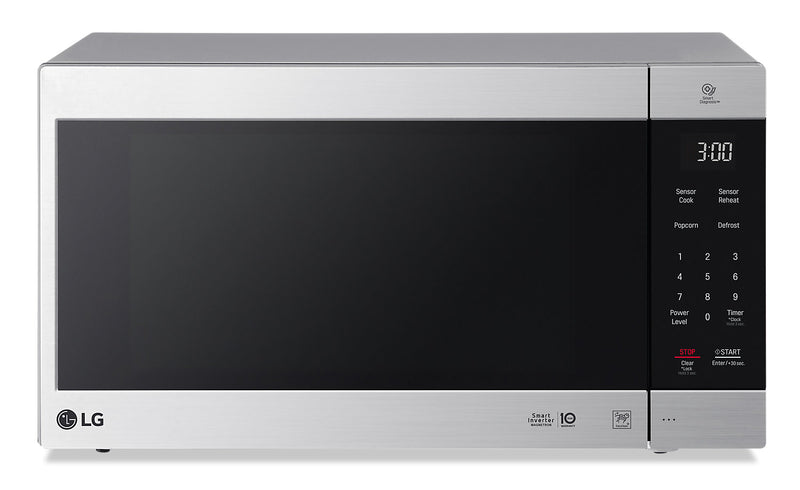 LG 2.0 Cu. Ft. NeoChef Countertop Microwave with Smart Inverter and EasyClean – LMC2075ST|Four à micro-ondes de comptoir LG NeoChefMC de 2,0 pi3 avec technologie Smart Inverter – LMC2075ST|LMC2075S