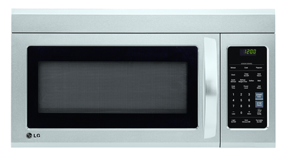 LG 1.8 Cu. Ft. Over-the-Range Microwave – LMV1852ST - Over-the-Range Microwave in Stainless Steel