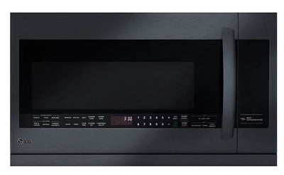 LG 2.2 Cu. Ft. Over-the-Range Microwave with ExtendaVent - LMV2257BM - Over-the-Range Microwave in Black