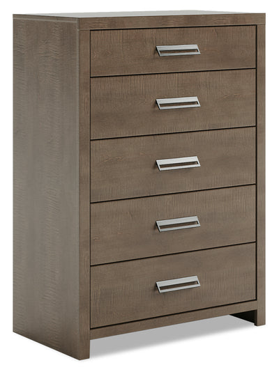 London Chest - {Modern} style Chest in Prairie Storm {Medium Density Fibreboard (MDF)}