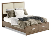 London Queen Panel Bed
