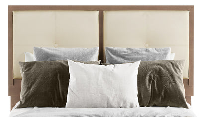 London Queen Headboard - {Modern} style Headboard in Prairie Storm {Medium Density Fibreboard (MDF)}