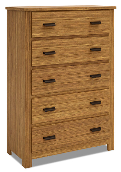 Louise Chest - Brown|Commode verticale Louise - brune|LOUIB5CH