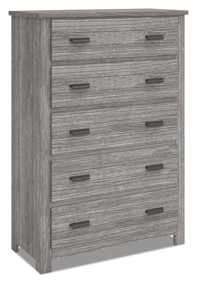 Louise Chest - Grey|Commode verticale Louise - grise|LOUIG5CH|