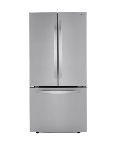 LG 25 Cu. Ft. Smudge Resistant French-Door Refrigerator - LRFCS2523S - Refrigerator in Stainless Steel