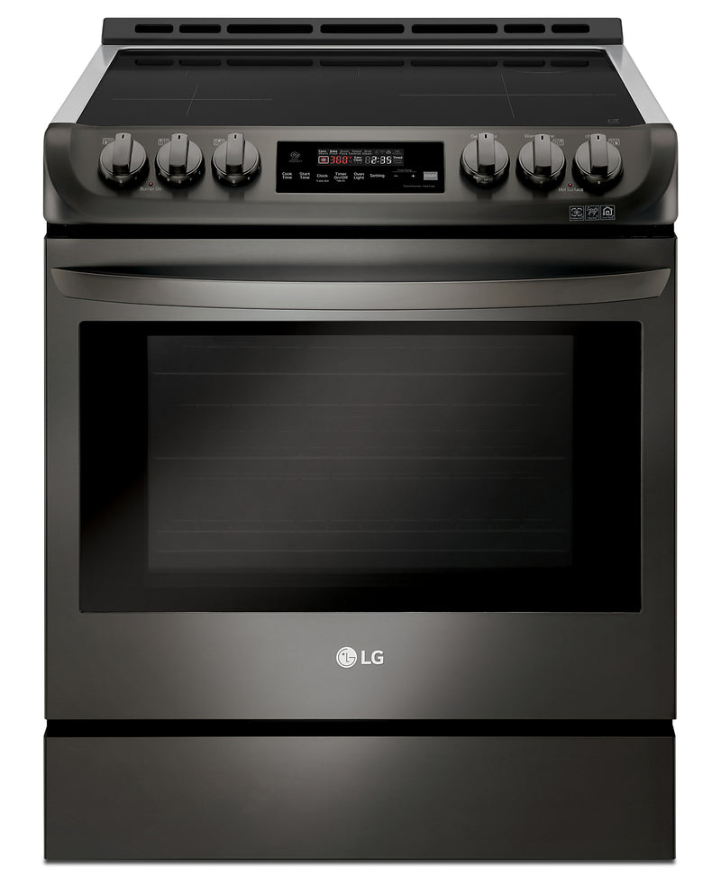 LG 6.3 Cu. Ft. Induction Front-Control Freestanding Range with ProBake Convection and EasyClean – LSE4616BD