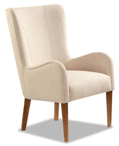 Lydia Wing Dining Chair – White|Chaise de salle à manger à oreilles Lydia - blanche|LYDIWDAC
