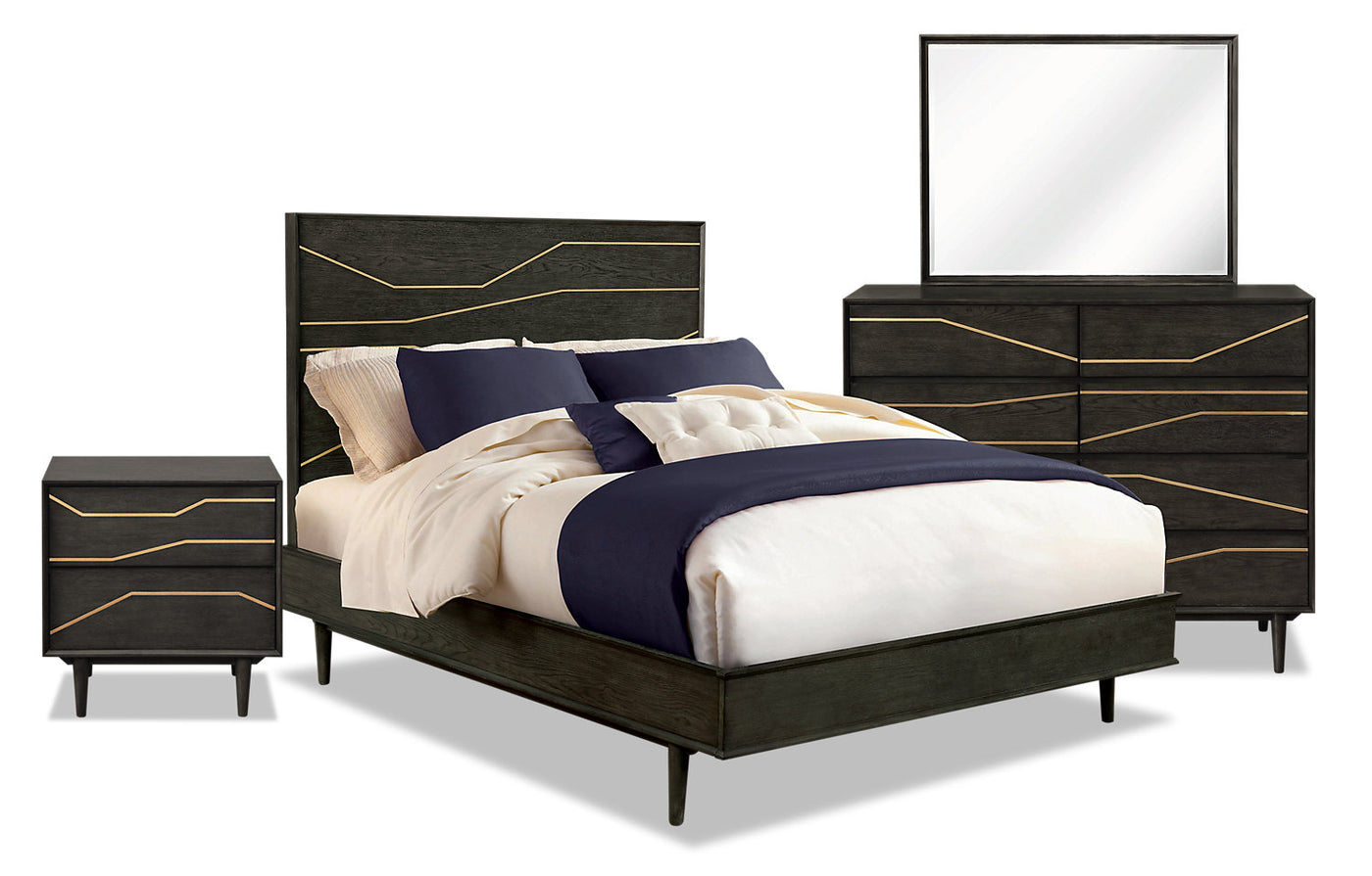 Macy 6 Piece King Bedroom Package The Brick