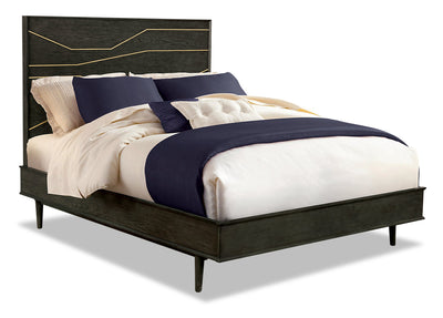 Macy Queen Bed|Grand lit Macy|MACYCQBD