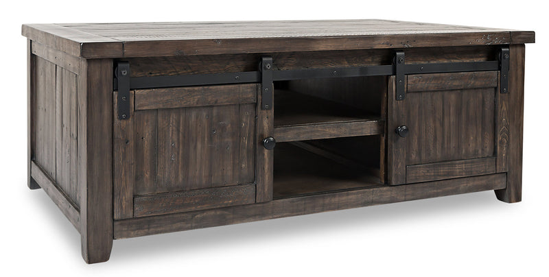 Madison Barn Door Coffee Table – Brown