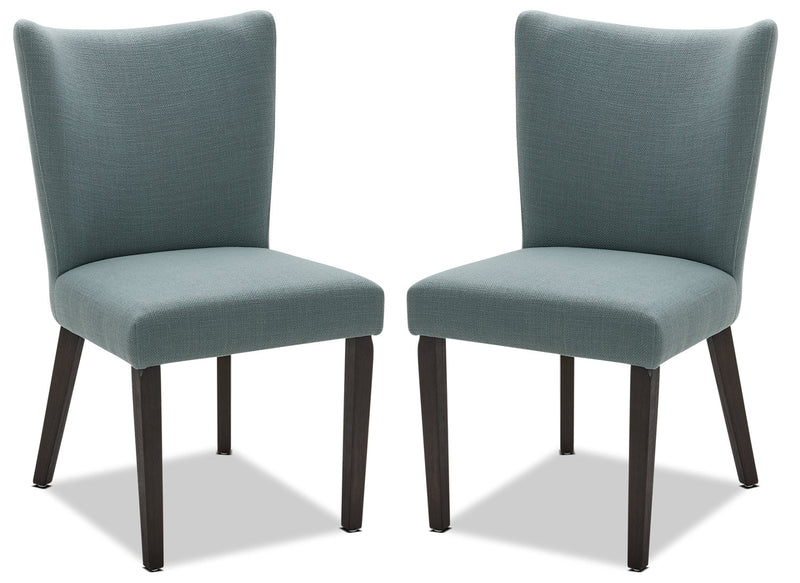 Mady Dining Chair, Set of 2 – Blue|Chaise de salle à manger Mady, ensemble de 2 – bleue|MADYADSP