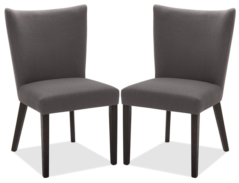 Mady Dining Chair, Set of 2 – Grey|Chaise de salle à manger Mady, ensemble de 2 – grise|MADYCDSP