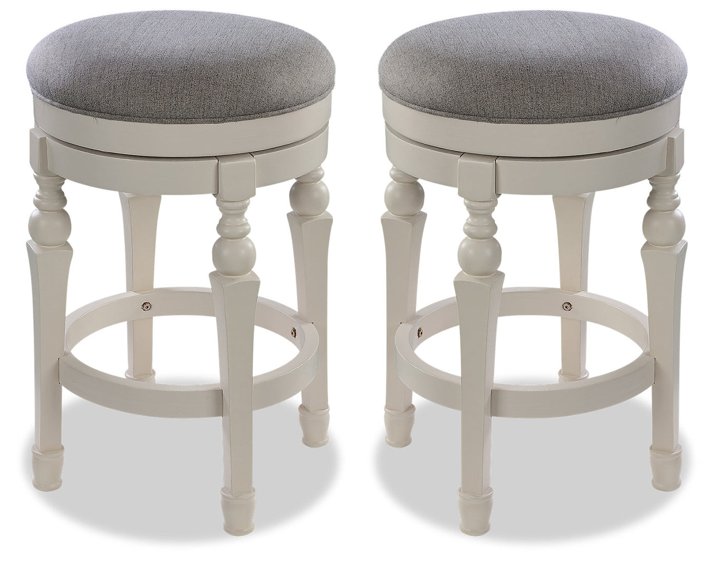 Magnificent Magnolia Counter Height Round Bar Stool Set Of 2 Gmtry Best Dining Table And Chair Ideas Images Gmtryco