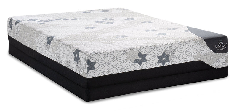 Serta iComfort Excellence Magnitude Low-Profile Queen Mattress Set|Ensemble matelas à profil bas Magnitude iComfortMD Excellence de Serta pour grand lit
