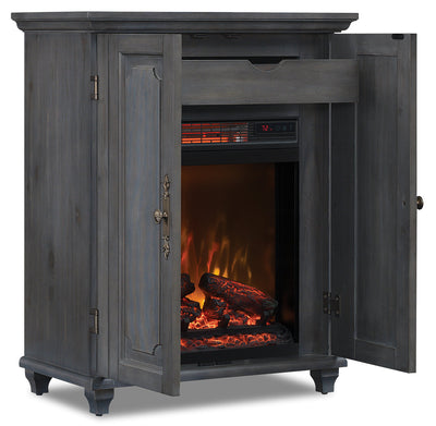Maine Fire Cabinet|Armoire avec foyer Maine|MAINFIRE