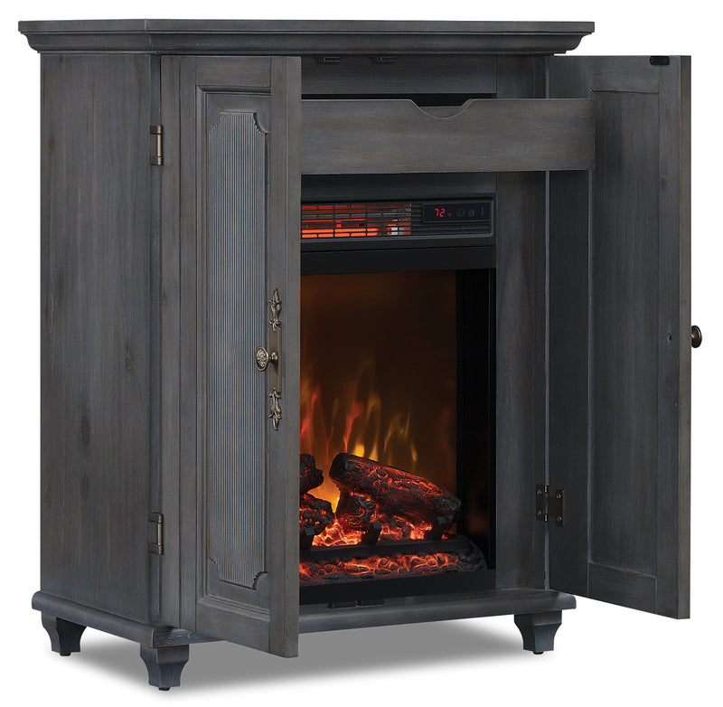 Maine Fire Cabinet|Armoire avec foyer Maine