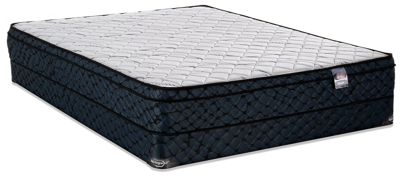 Springwall Maple Eurotop Low-Profile Full Mattress Set|Ensemble matelas à Euro-plateau à profil bas Maple de Springwall pour lit double