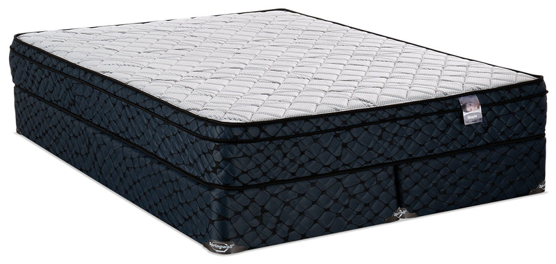 Springwall Maple Eurotop Split Queen Mattress Set