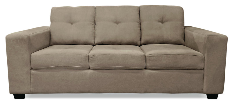 Mara Chenille Sofa - Light Brown|Sofa Mara en chenille - brun pâle