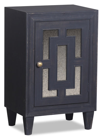 Marion Single-Door Cabinet - Blue|Armoire décorative Marion à 1 porte - bleue|MASCHACC