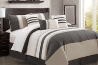 Maximus 7-Piece Queen Comforter Set