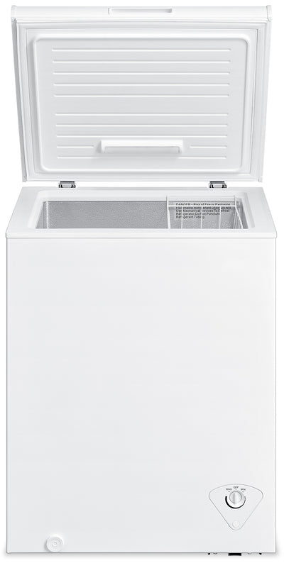 Midea 5 Cu. Ft. Chest Freezer – MC500SWAR0RC1 - Freezer in White