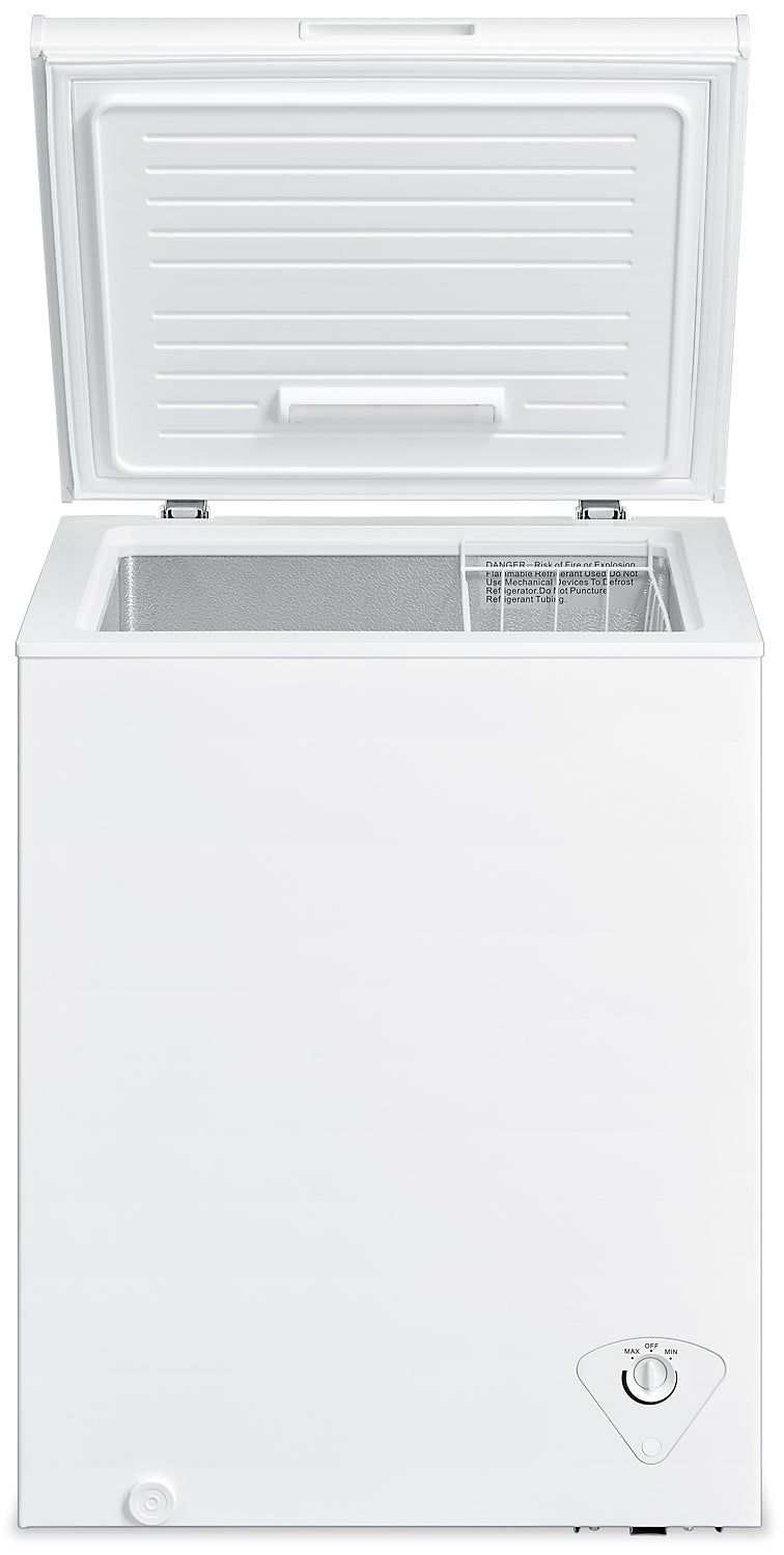 Midea 5 Cu. Ft. Chest Freezer – MC500SWAR0RC1|Congélateur coffre Midea de 5 pi3 - MC500SWAR0RC1