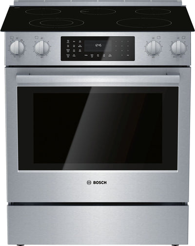 Bosch 4.6 Cu. Ft. 800 Series Electric Range - HEI8056C - Electric Range in Stainless Steel