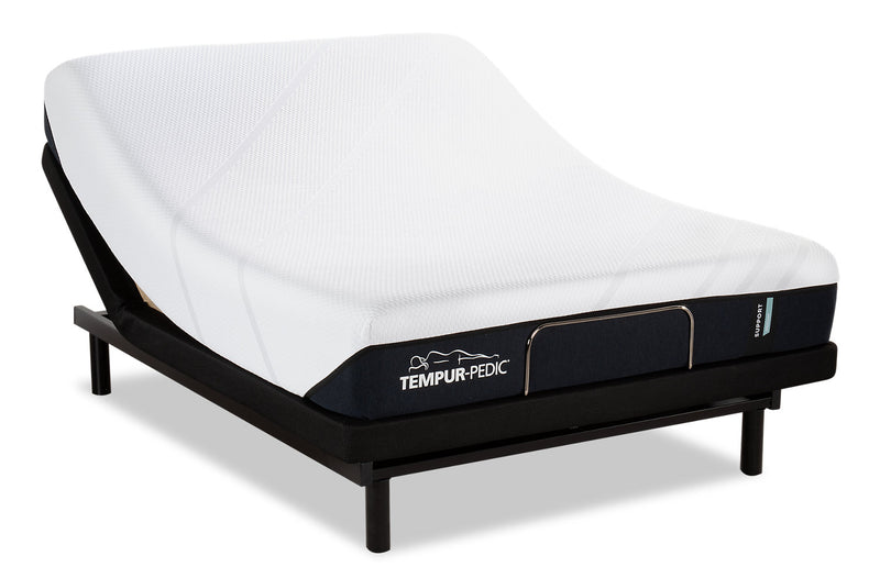 Tempur-Pedic Support Medium Queen Mattress with Reflexion by Sealy Lift Adjustable Base|Matelas Support Medium Tempur-PedicMD pour grand lit avec base ajustable Reflexion by Sealy Lift|MDLTADQP