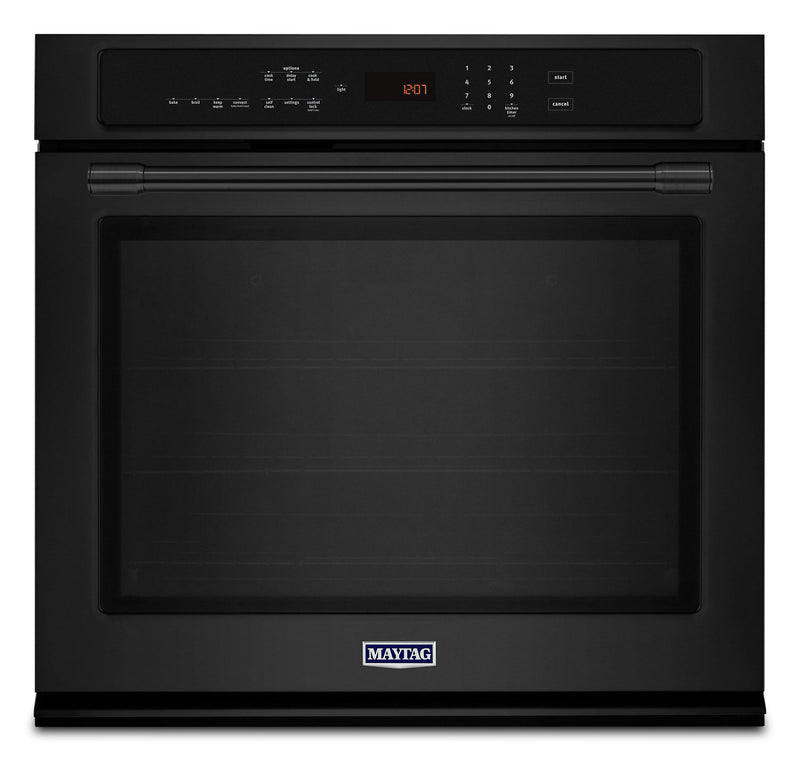 Maytag 4.3 Cu. Ft. Single Wall Oven - MEW9527FB|Four mural simple Maytag de 4,3 pi3 – MEW9527FB|MEW9527B