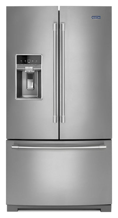 Maytag 27 Cu. Ft. French-Door Refrigerator - MFT2772HEZ - Refrigerator in Stainless Steel