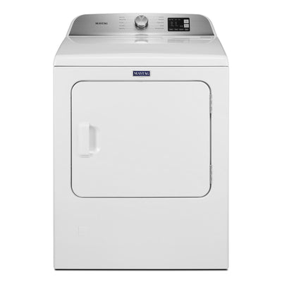 Maytag 7.0 Cu. Ft. Top-Load Gas Dryer with Advanced Moisture Sensing - MGD6200KW - Dryer in White