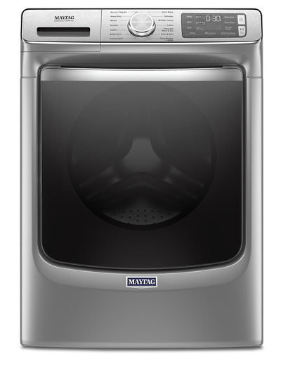 Maytag 5.8 Cu. Ft. Smart Front-Load Washer with Extra Power – MHW8630HC - Washer in White