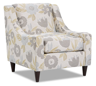 Mira Fabric Accent Chair - Blossom Bliss