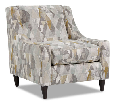 Mira Fabric Accent Chair - Flipside Spring
