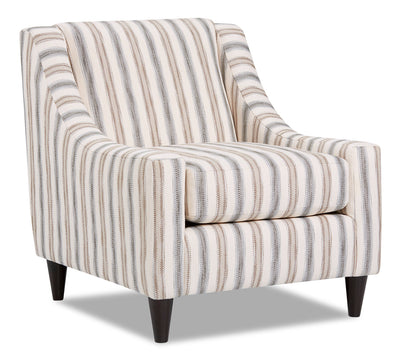 Mira Fabric Accent Chair - Haddie Twilight|Fauteuil d'appoint Mira en tissu - Haddie crépuscule|MIRAHTAC