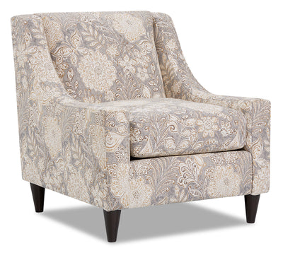 Mira Fabric Accent Chair - Madelena Morning Dew