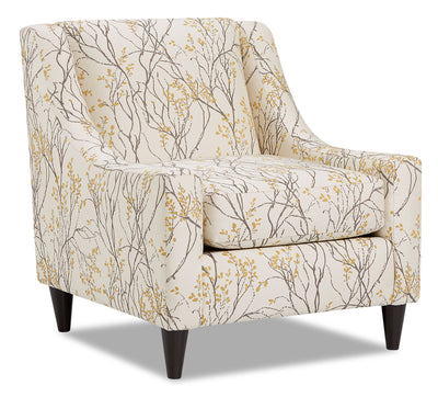 Mira Fabric Accent Chair - Myla Marigold