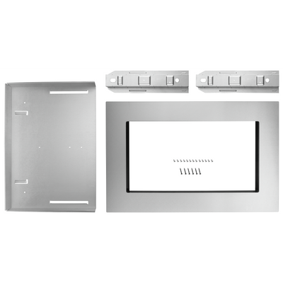 "Whirlpool 27"" Countertop Microwave Oven Trim Kit - MK2167AZ - Trim Kit in Fingerprint Resistant Stainless Steel"