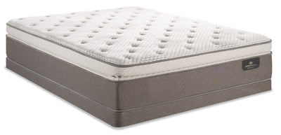 Serta Perfect Sleeper iCollection Mandalay Super Pillowtop Low-Profile Full Mattress Set|Ensemble plateau-coussin épais profil bas Mandalay iCollectionMD Perfect SleeperMD Serta lit double|MNDLALFP