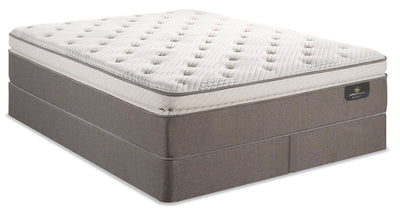 Serta Perfect Sleeper iCollection Mandalay Super Pillowtop Split Queen Mattress Set|Ensemble à plateau-coussin épais divisé Mandalay iCollection Perfect Sleeper Serta pour grand lit|MNDLASQP