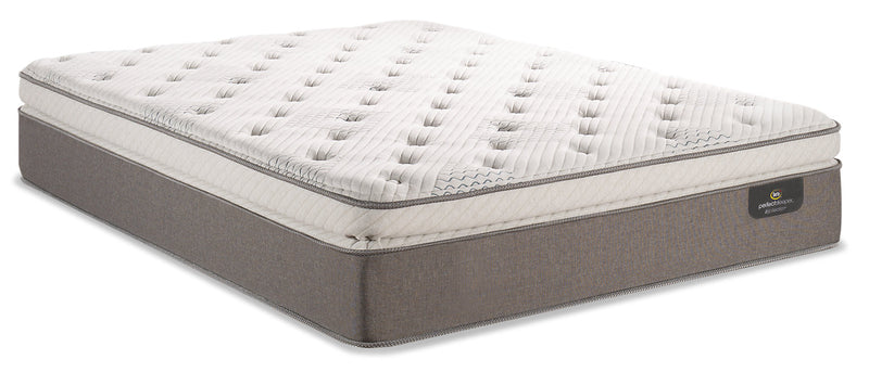 Serta Perfect Sleeper iCollection Mandalay Super Pillowtop Twin Mattress|Matelas à plateau-coussin épais Mandalay iCollectionMD Perfect SleeperMD de Serta pour lit simple